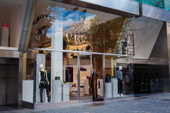 Versace shop in Barcelona, Spain Royalty Free Stock Images