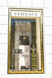 Versace shop in Rome, Italy Stock Photography