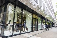 Versace sklep w Dusseldorf, Niemcy Fotografia Royalty Free
