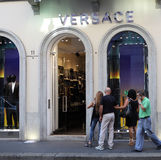 Versace store Royalty Free Stock Photos