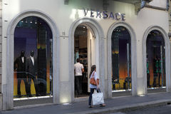 Versace store Royalty Free Stock Images