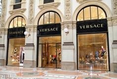 Versace Store Stock Image