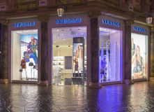 Versace store Stock Photography