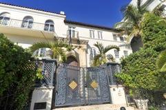 Versace-Villa stockbilder
