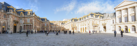 Versaille palace in France stock image