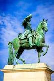 Versailles statue. Versailles sclupture of king Louis 14 Stock Image