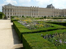 Versailles. Palace of Versailles and gardens in France Royalty Free Stock Image
