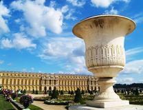 Versailles Castle. Summer in the park Royalty Free Stock Images