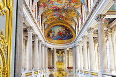 Versailles Castle. Famous Royal Chapel Royalty Free Stock Photo