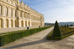 Versailles castle and garden in France Stock Images