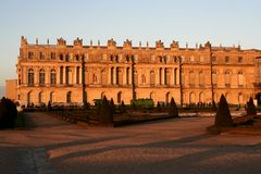 The Versailles chateau Royalty Free Stock Photography