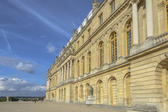 Versailles Chateau exterior in a sunny day Stock Images