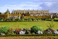 Versailles Chateau and Gardens Royalty Free Stock Image