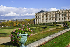 Versailles Chateau and Gardens Stock Images