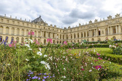 Versailles Chateau and gardens view Royalty Free Stock Photo