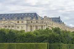 Versailles Chateau and gardens view Royalty Free Stock Photography