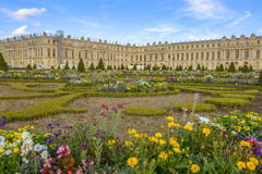 Versailles Chateau and gardens view Royalty Free Stock Image