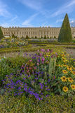 Versailles Chateau and gardens view Royalty Free Stock Photos