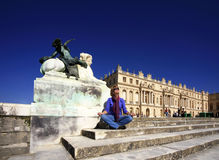 Versailles Chateau Stock Images