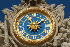 Versailles clock Royalty Free Stock Images