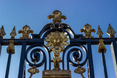 Versailles  fence Royalty Free Stock Images