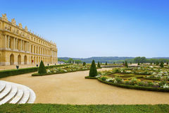 Versailles, france. Landscape in a sunny day Royalty Free Stock Images