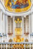 VERSAILLES, FRANCE - JULY 02, 2016:  Famous Royal Chapel inside Stock Image