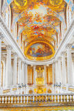 VERSAILLES, FRANCE - JULY 02, 2016:  Famous Royal Chapel inside Royalty Free Stock Photo