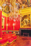 VERSAILLES, FRANCE - JULY 02, 2016 : King's grand apartment(Salo Stock Image