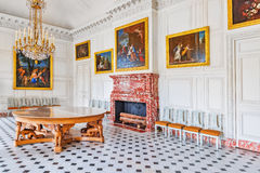 VERSAILLES, FRANCE - JULY 02, 2016 : Living room ( salon)  of th Royalty Free Stock Image