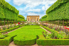 VERSAILLES, FRANCE - JULY 02, 2016 : Petit Trianon-beautiful Gar Royalty Free Stock Images