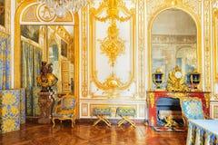 VERSAILLES, FRANCIA - 2 LUGLIO 2016: Studio del Consiglio (Cabinet Du C Fotografie Stock