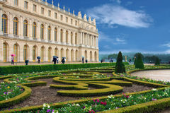 Versailles in Francia, Parigi Fotografie Stock