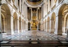 VERSAILLES FRANCJA, CZERWA 20 wnętrza górska chata Versailles -, Vers Fotografia Royalty Free