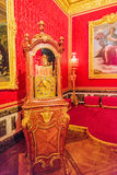VERSAILLES FRANCJA, LIPIEC, - 02, 2016: Królewiątka uroczysty mieszkanie (Salo Zdjęcia Royalty Free