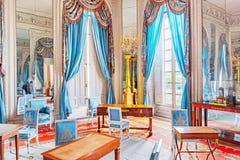 VERSAILLES FRANCJA, LIPIEC, - 02, 2016: Mieszkania w Uroczysty Tri Zdjęcie Royalty Free