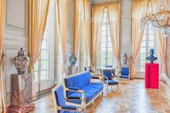 VERSAILLES FRANCJA, LIPIEC, - 02, 2016: Uroczysty imperatorowa gabinet w th Obrazy Stock