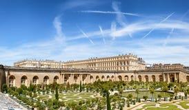 VERSAILLES, FRANCJA Royal Palace w Versailles Fotografia Royalty Free