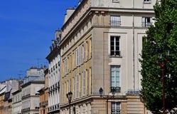 Versailles, Frankreich - 13. August 2016: malerisches Stadtzentrum herein Lizenzfreie Stockfotografie