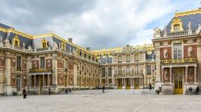 Versailles, Frankrijk - April, 2012: het majestueuze Paleis van Versailles, dichtbij Parijs, Frankrijk Royalty-vrije Stock Fotografie