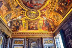 VERSAILLES, FRANKRIJK - JULI 02, 2016: Oorlog Room Salon DE La Guerr Royalty-vrije Stock Afbeelding