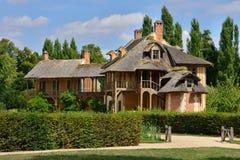 Versailles Frankrike - august 19 2015: Versailles slott Arkivbilder
