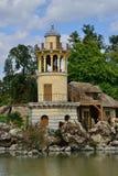 Versailles Frankrike - august 19 2015: Versailles slott Fotografering för Bildbyråer