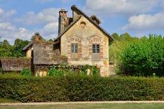 Versailles Frankrike - august 19 2015: Versailles slott Arkivfoton