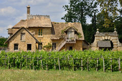 Versailles Frankrike - august 19 2015: Versailles slott Royaltyfria Bilder