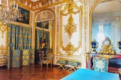VERSAILLES FRANKRIKE - JULI 02, 2016: Rådstudie (Kabinett Du C Royaltyfria Foton