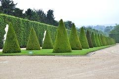 VERSAILLES FRANKRIKE Juni, 2013 slotten av Versailles är en kunglig chateau i Versailles, Frankrike Lista Paris för UNESCOvärldsa Arkivbild
