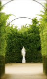 Versailles garden. This beautiful setting is common in most of the garden of Versailles palace, Paris, France Stock Photos