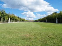 Versailles Garden Landscape in France Royalty Free Stock Photography