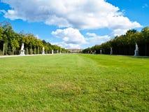 Versailles Garden Landscape in France Stock Photos